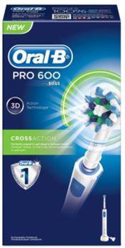 Oral B Pro 600 CrossAction confezione